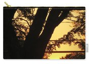 Old Tree And Sunset Carry-all Pouch