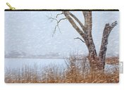 Old Tree In Winter Carry-all Pouch