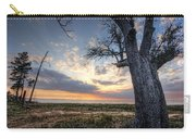 Old Tree Sunset Over Oyster Bay Carry-all Pouch
