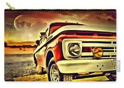 Old Truck Art Carry-all Pouch