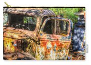 Old Trucks And Old Bicycles Carry-all Pouch