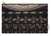 Old Typewriter Carry-all Pouch
