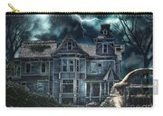 Old Victorian House Carry-all Pouch by Mo T