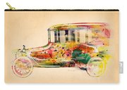 Old Volkswagen3 Carry-all Pouch by Mark Ashkenazi