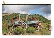 Old Wagon Along The Road Carry-all Pouch