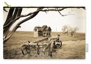 Old Wagon And Homestead II Carry-all Pouch by Athena Mckinzie