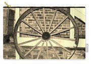 Old Wagon Wheel 1 Carry-all Pouch