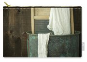 Old Washboard Laundry Days Carry-all Pouch by Edward Fielding