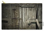 Old Weathered Barn Door Carry-all Pouch