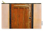 Old Weathered Door Carry-all Pouch
