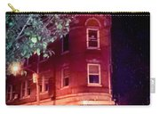 Old Wedge Bank  Building  Haunted Alton Ill Carry-all Pouch