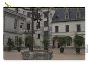 Old Well And Courtyard Chateau Chaumont Carry-all Pouch