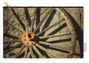 Old West Wagon Wheel Carry-all Pouch