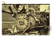 Old Western Railroad Carry-all Pouch
