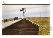 Old Windmill Vs New Windmills Carry-all Pouch