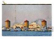 Old Windmills And Cruise Ship Carry-all Pouch