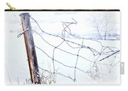 Old Wire Fence Carry-all Pouch