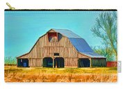 Old Wood Barn  Digital Paint Carry-all Pouch