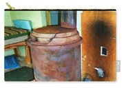 Old Wood Burning Stove  Carry-all Pouch