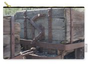 Old Wood  Mining Ore Car Carry-all Pouch