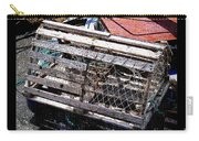 Old Wooden Lobster Pot Carry-all Pouch