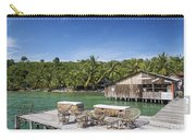 Old Wooden Pier Of Koh Rong Island In Cambodia Carry-all Pouch