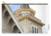 Old Wooden Victorian Chapel Church Steeple Fine Art Landscape Photography Print Carry-all Pouch