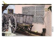 Old Wooden Wagon Carry-all Pouch by Marilyn Hunt