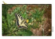 Old World Swallowtail. Montorfano. Cologne Carry-all Pouch