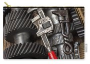 Old Wrenches On Gears Carry-all Pouch