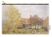 Old Wyldes Farm Carry-all Pouch by Helen Allingham