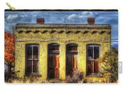 Old Yellow House In Buena Vista Carry-all Pouch