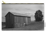 Olde Homestead - Olde Barn - Black And White Carry-all Pouch