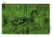 Olive Green Horse Carry-all Pouch