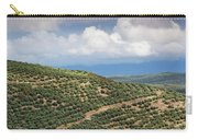 Olive Trees In A Field, Ubeda, Jaen Carry-all Pouch