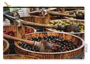 Olives Carry-all Pouch by Heather Applegate