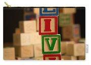 Olivia - Alphabet Blocks Carry-all Pouch