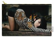 Olivia Wild And The Tiger Carry-all Pouch