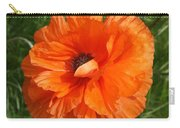 Olympia Orange Poppy Carry-all Pouch