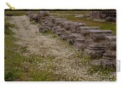 Olympia Ruins And Wild Flowers   #9678 Carry-all Pouch
