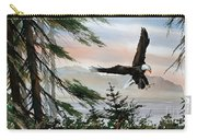 Olympic Coast Eagle Carry-all Pouch