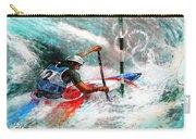 Olympics Canoe Slalom 02 Carry-all Pouch by Miki De Goodaboom