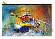 Olympics Canoe Slalom 04 Carry-all Pouch by Miki De Goodaboom