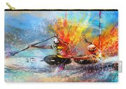 Olympics Canoe Slalom 05 Carry-all Pouch by Miki De Goodaboom