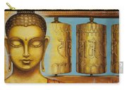 Om Mani Padme Hum Carry-all Pouch by Yuliya Glavnaya