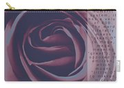 Omega Duo Tone Design Carry-all Pouch by Teri Schuster