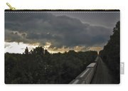 Ominous Skies Over Tracks Carry-all Pouch
