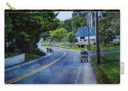On A Country Road - Lancaster - Pennsylvania Carry-all Pouch