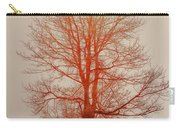 On Fire In The Fog Carry-all Pouch by Lois Bryan