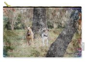 On Guard - Featured In Comfortable Art Group Carry-all Pouch